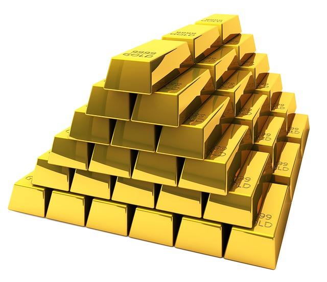 zlaté cihly