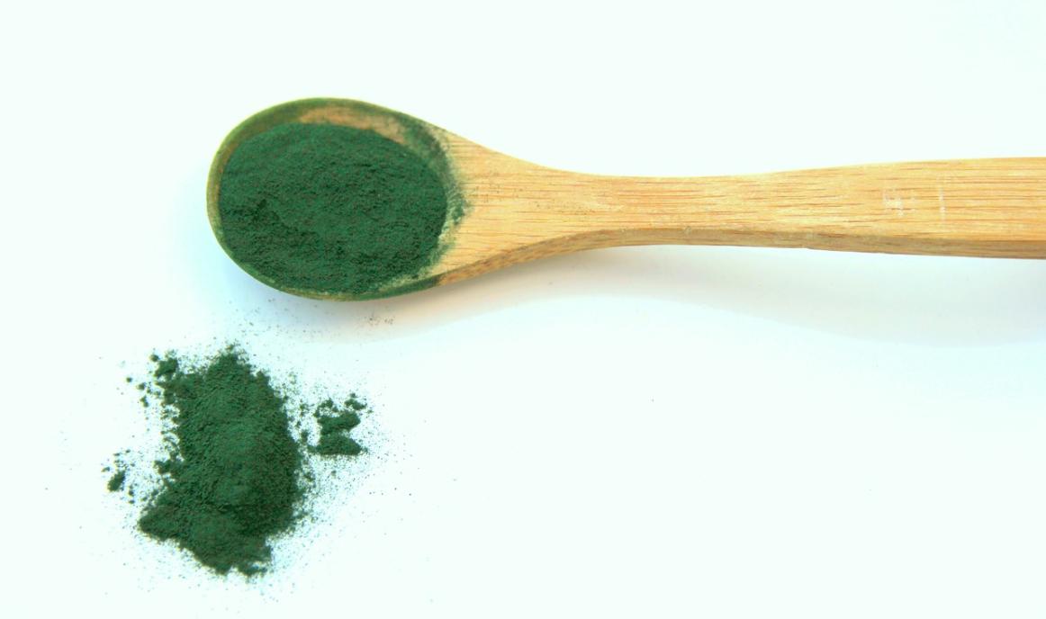 zelená spirulina